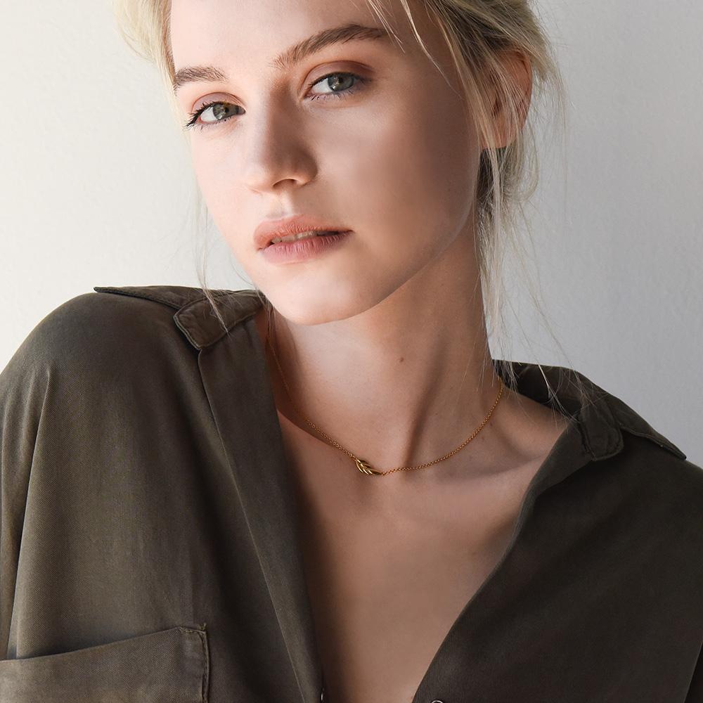 GWSxMejuri Olive necklace