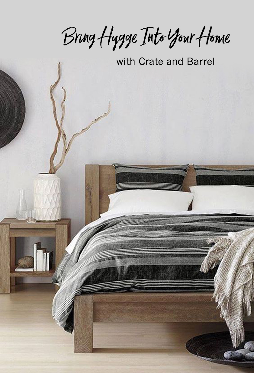 bring hygge into your home with crate and barrel green wedding