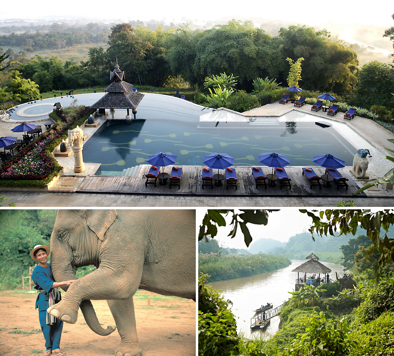 Anantara Golden Triangle Elephant Camp & Resort Thailand