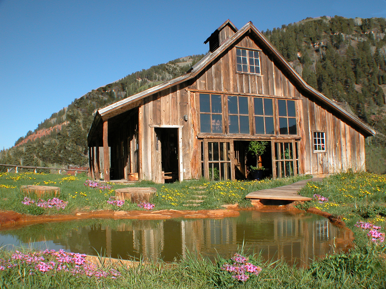 Dunton Hot Springs is a small property with only 13 rooms