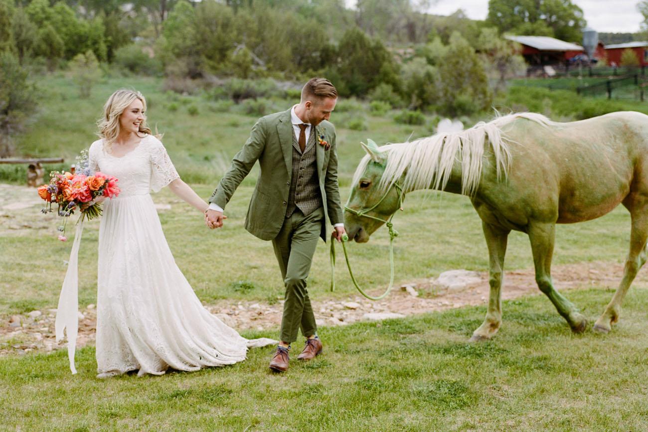 Prairie Coachella Inspired Wedding
