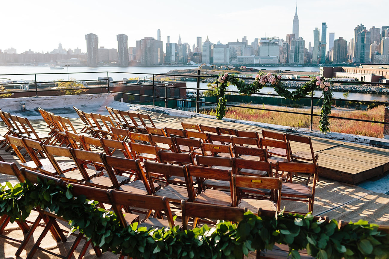 French Inspired Rooftop Wedding
