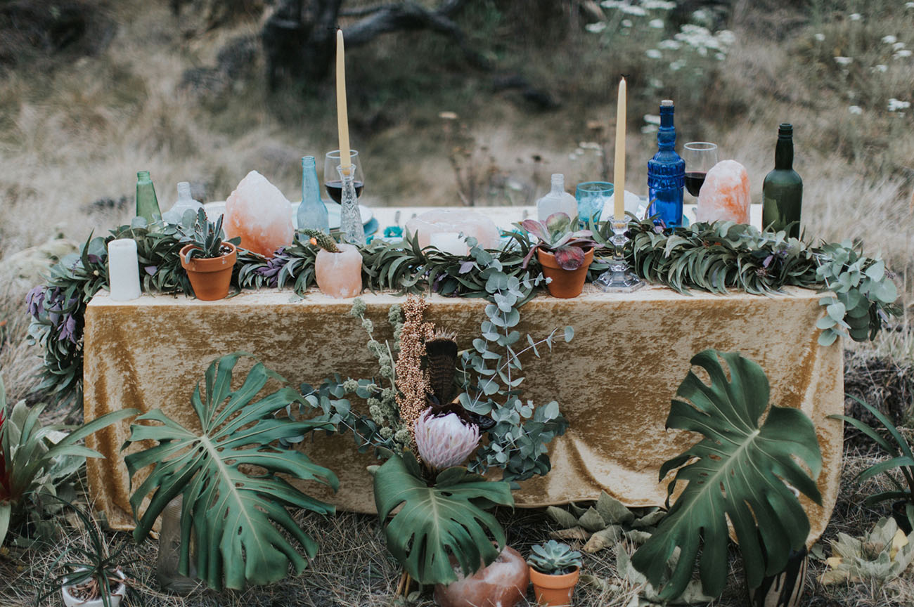 Hawaiian Desert Inspired Elopement