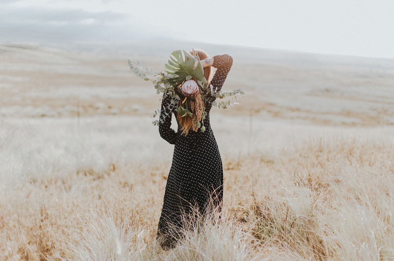 Hawaiian Desert Inspired Elopement