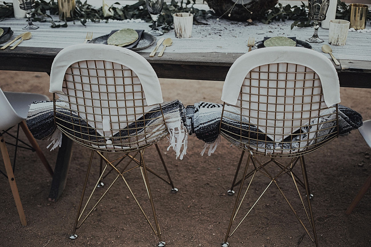 blanket chairs