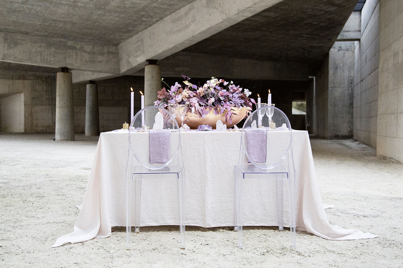 Lush Amethyst Wedding Inspiration