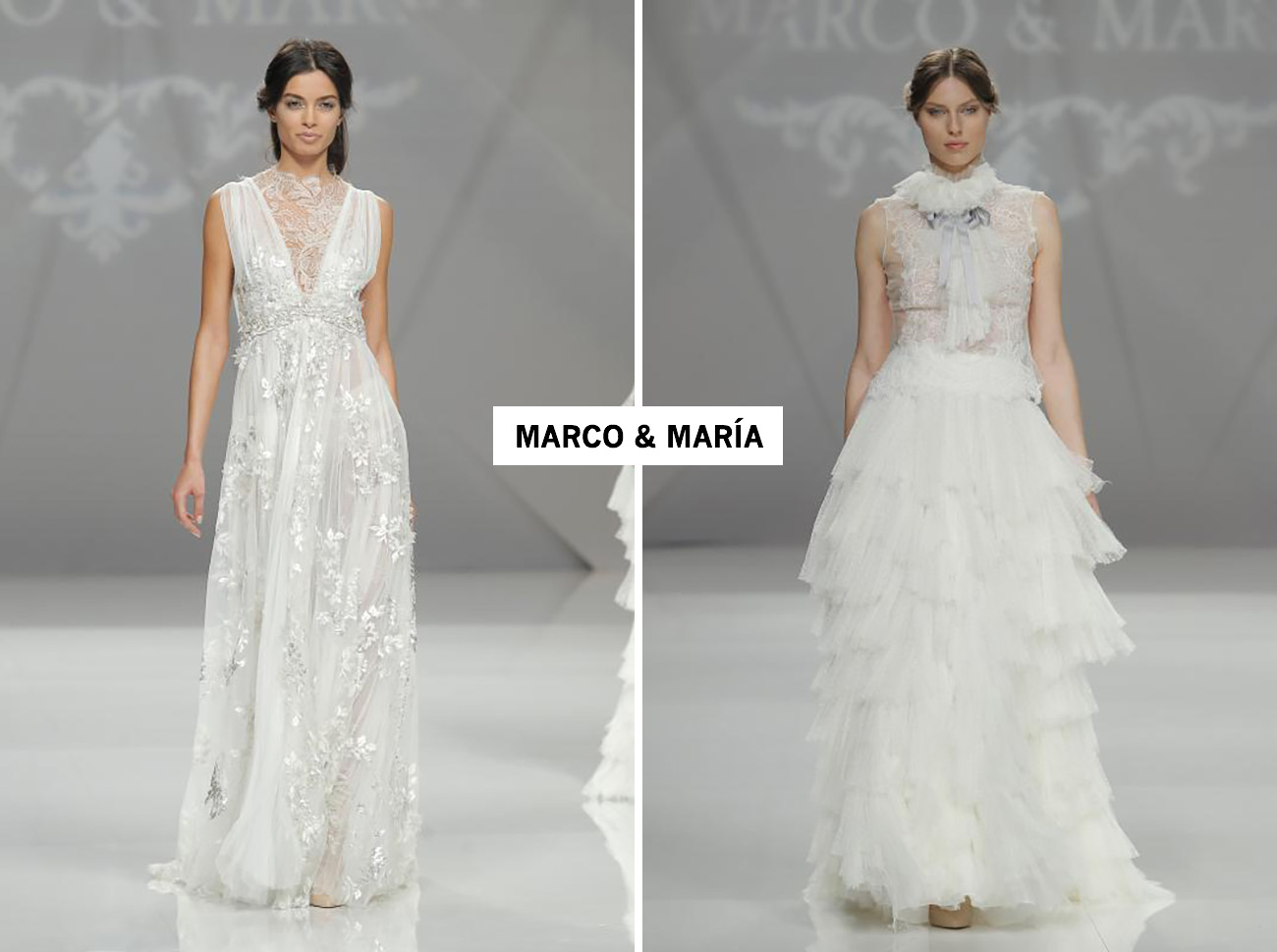 Barcelona Bridal Fashion Week 2017 + Green Wedding Shoes