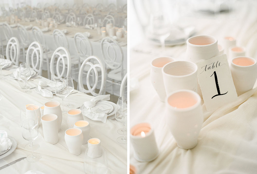 Modern Monochromatic Wedding