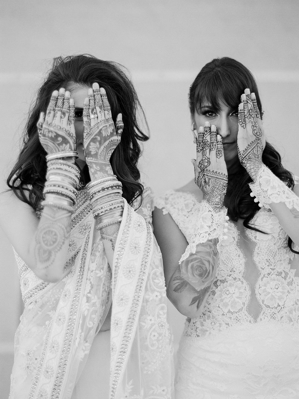 Modern Monochromatic Wedding