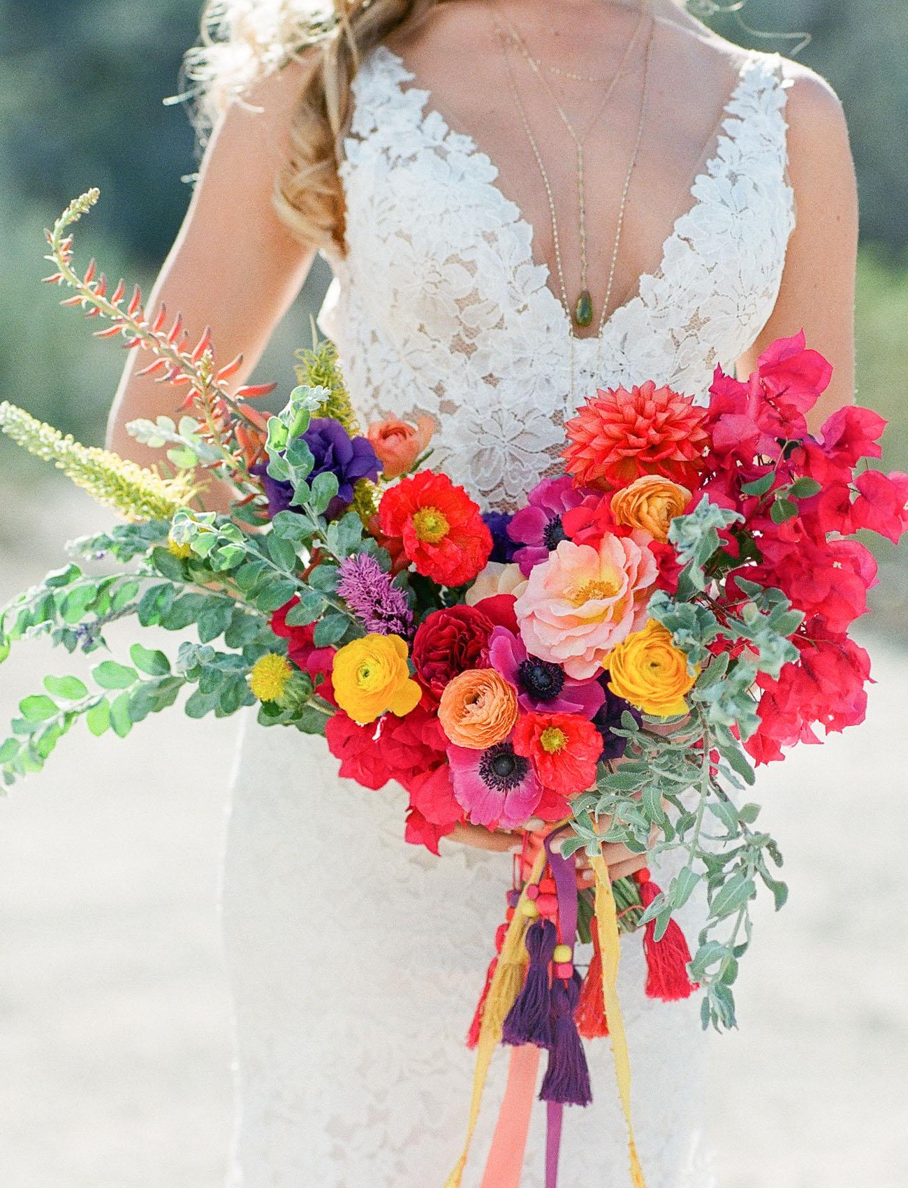 bright anemone bouquet