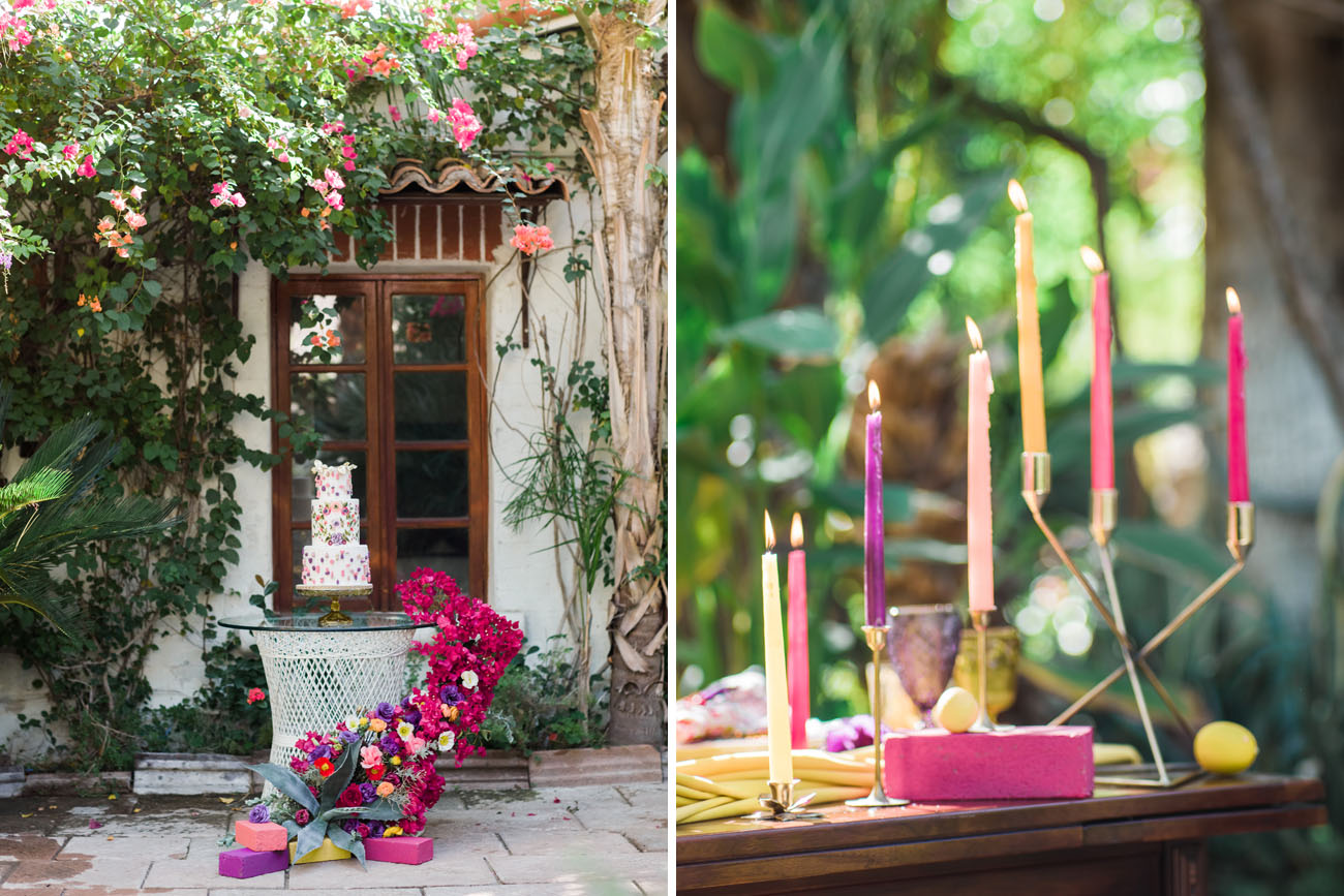 Bougainvillea Palm Springs Inspired Shoot
