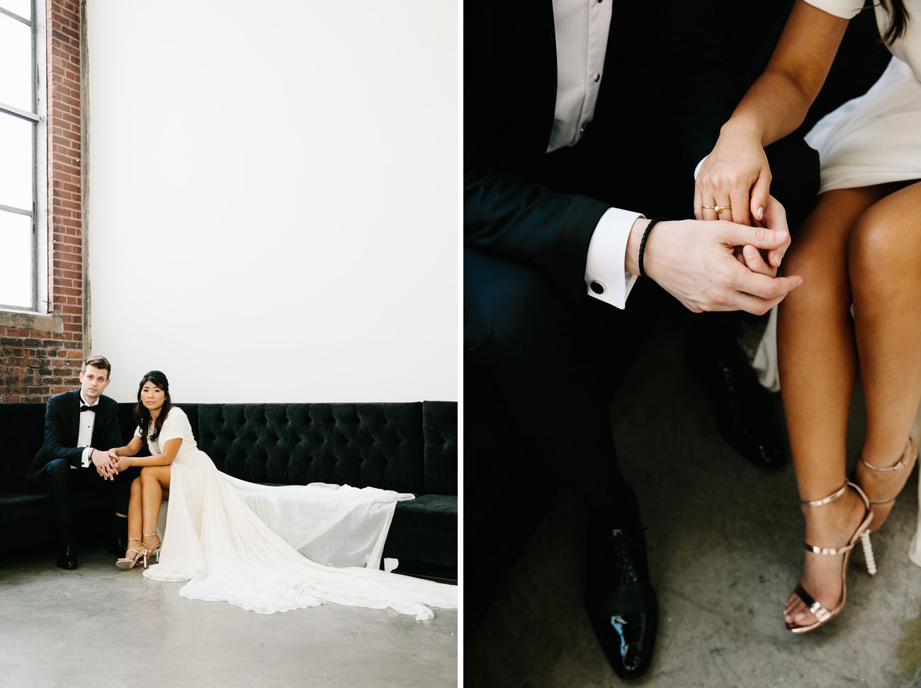 Modern Minimal Canada Wedding