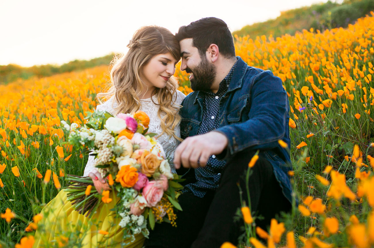 Poppy Field Engagement