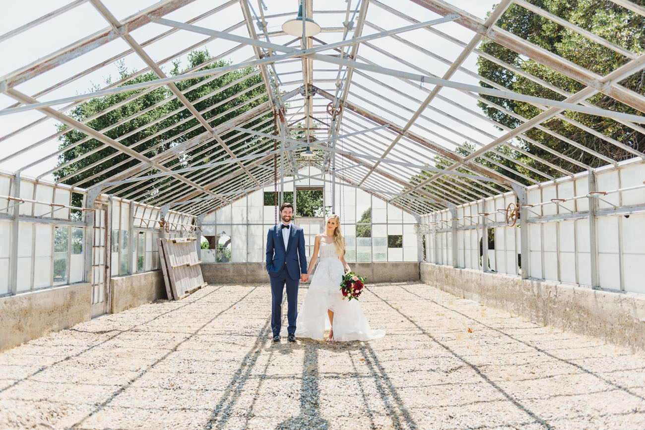 Romantic Santa Barbara Barn Wedding