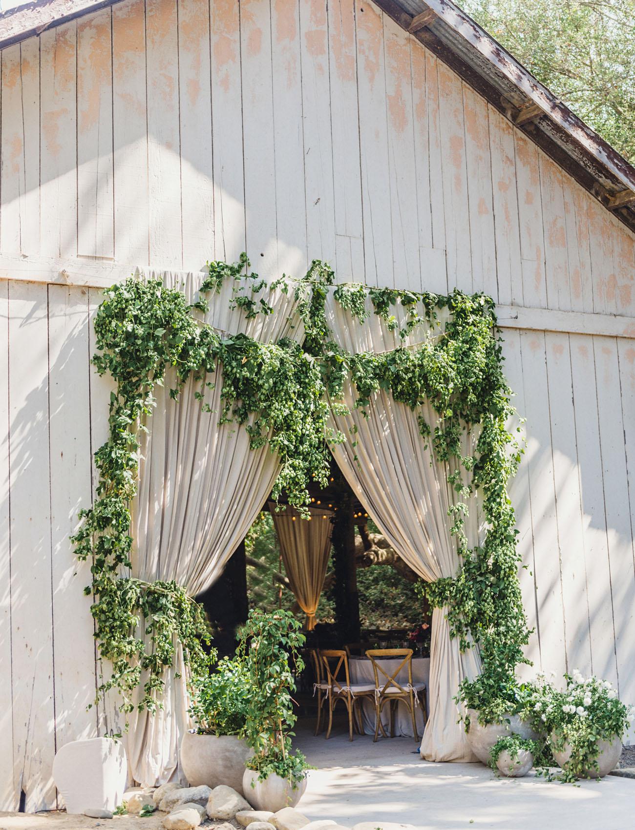 garland barn door