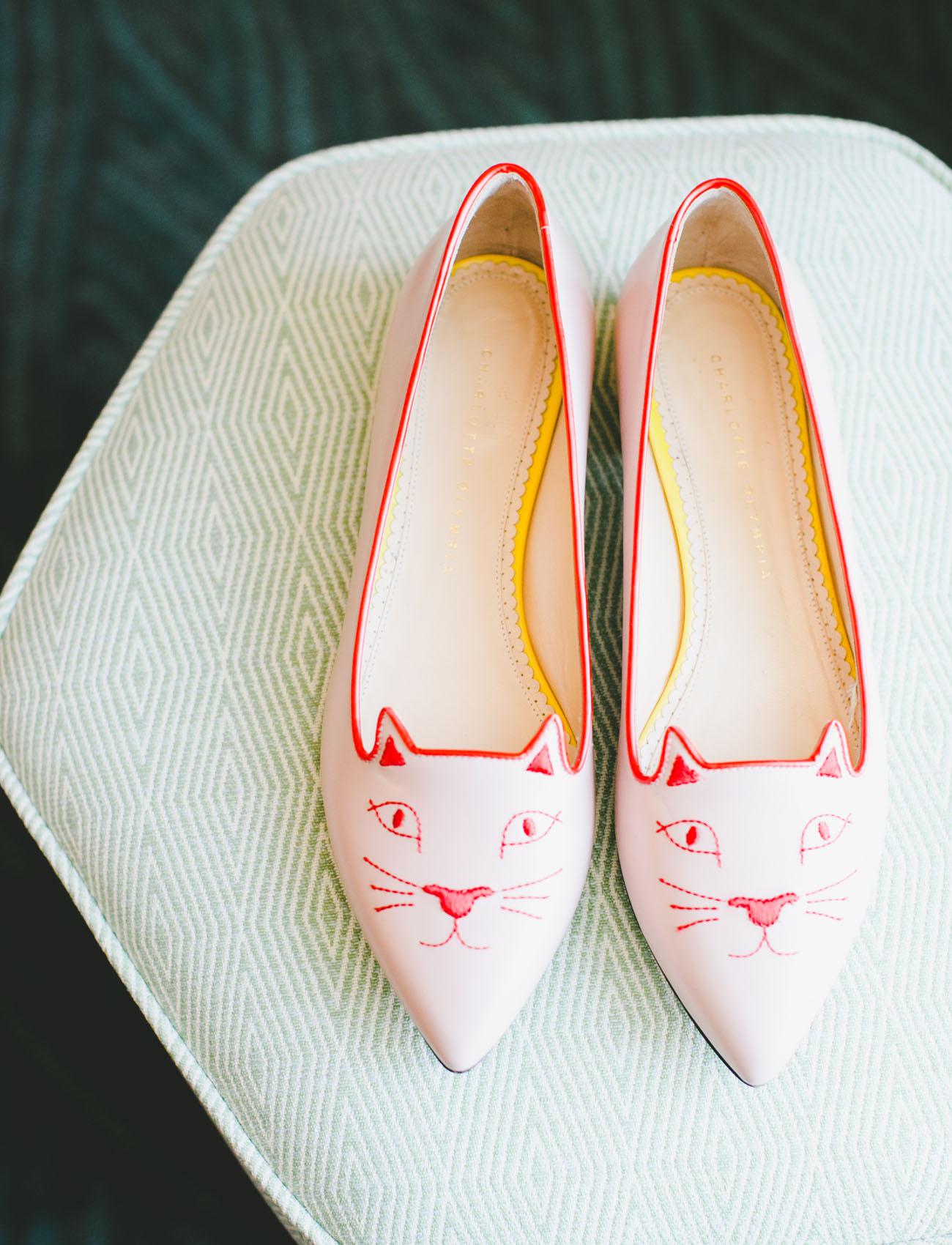 brides cat shoes
