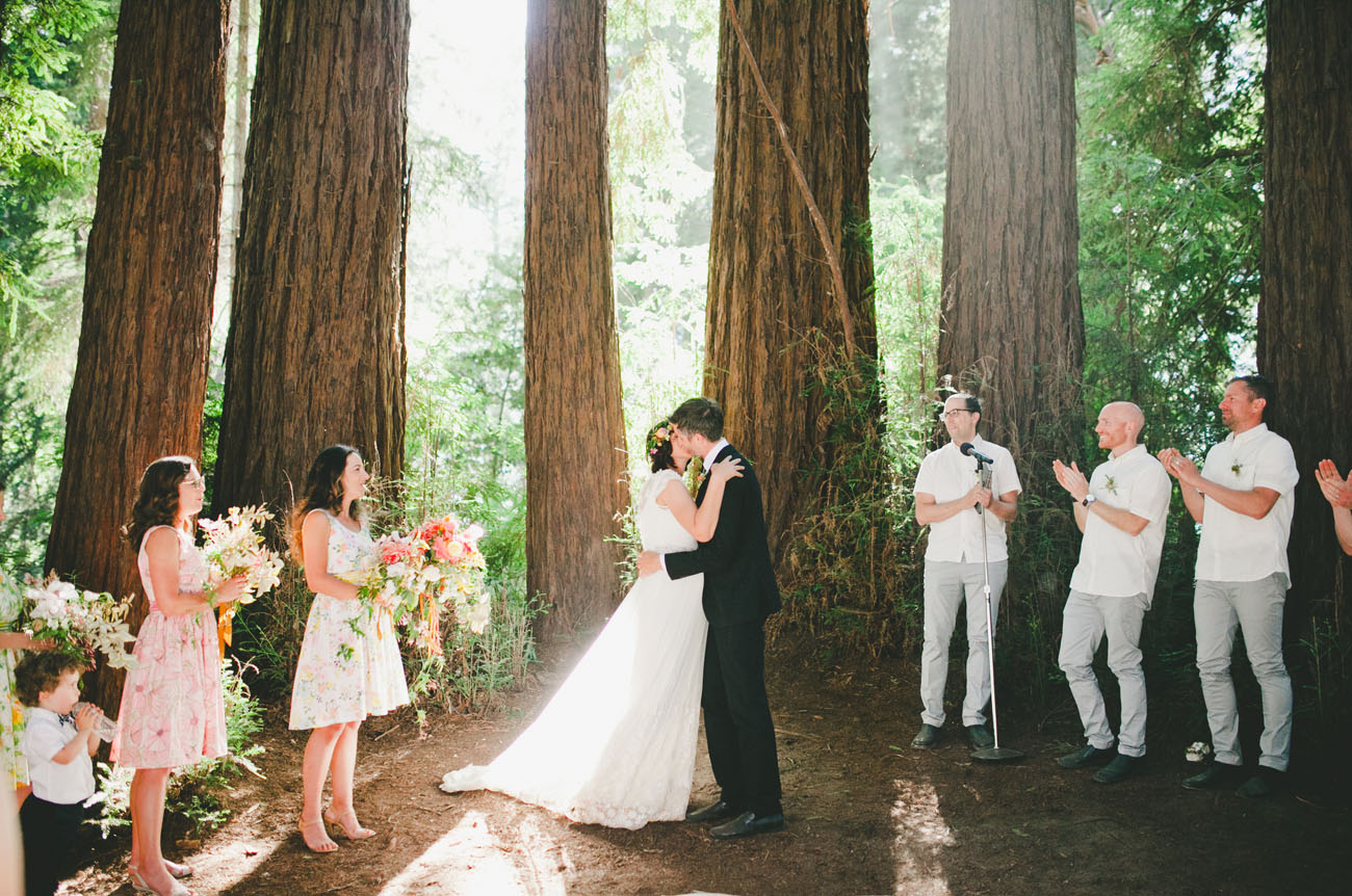 Sweet California Wedding