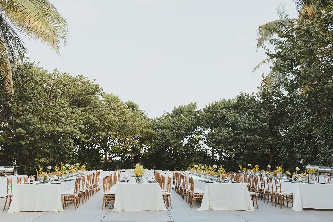 Modern Miami Beach Wedding