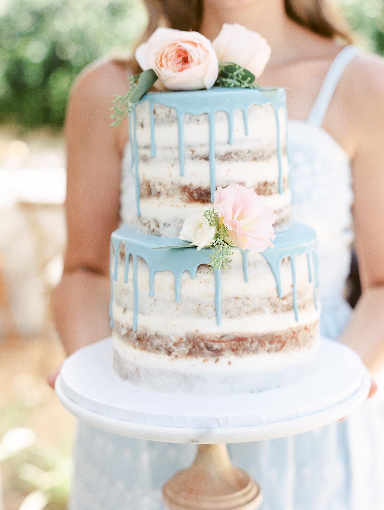 Turquoise Wedding Cake Boxes