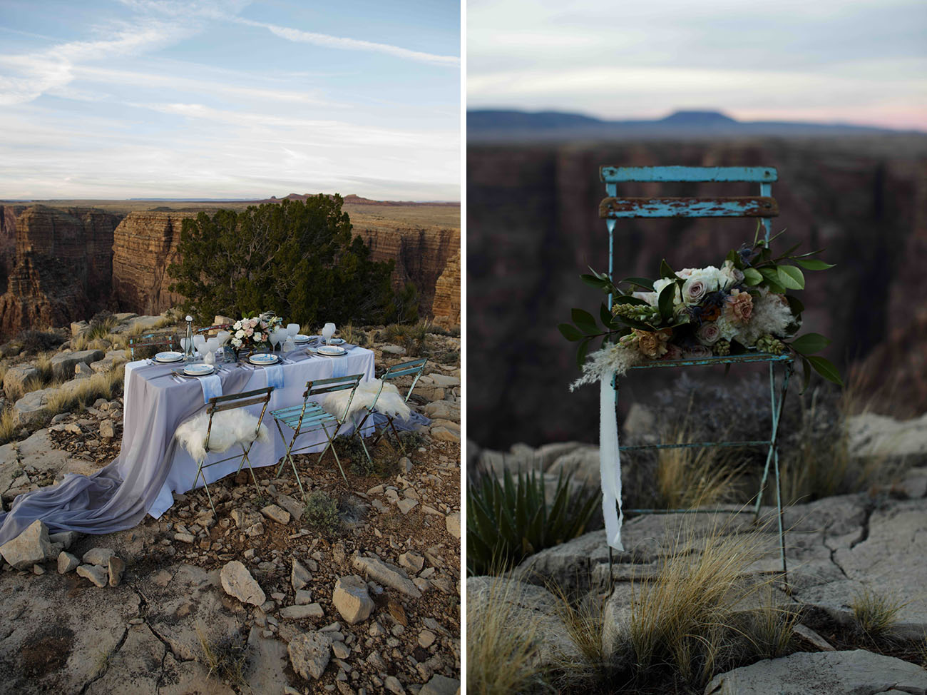 Arizona Canyons Wedding Inspiration