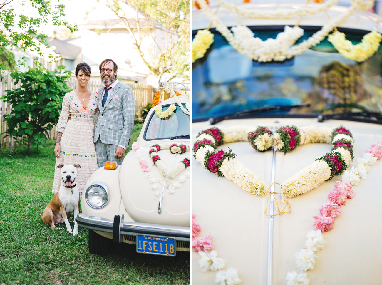 Vintage New Orleans Backyard Wedding