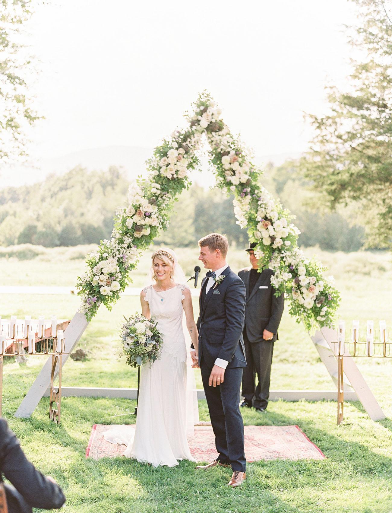 Bohemian Art Deco Wedding