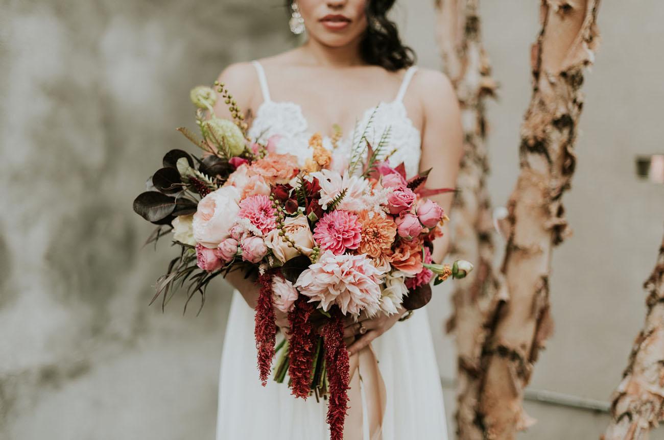 amaranthus bouquet