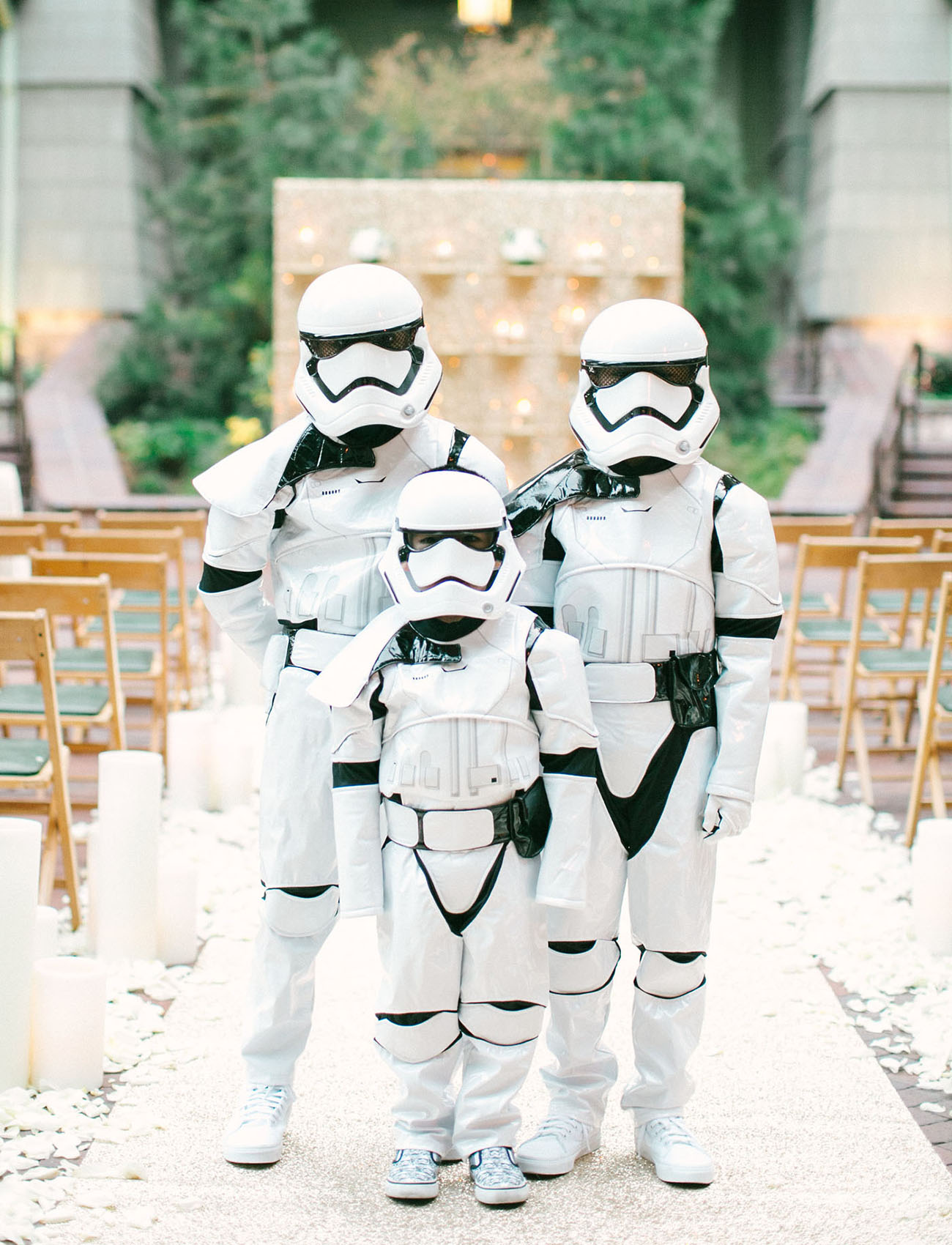 The Force is Strong with this Star Wars Disney Wedding! - Green ...