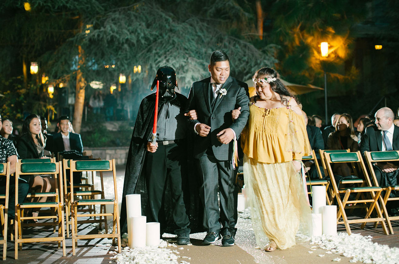 Star Wars Disney Wedding