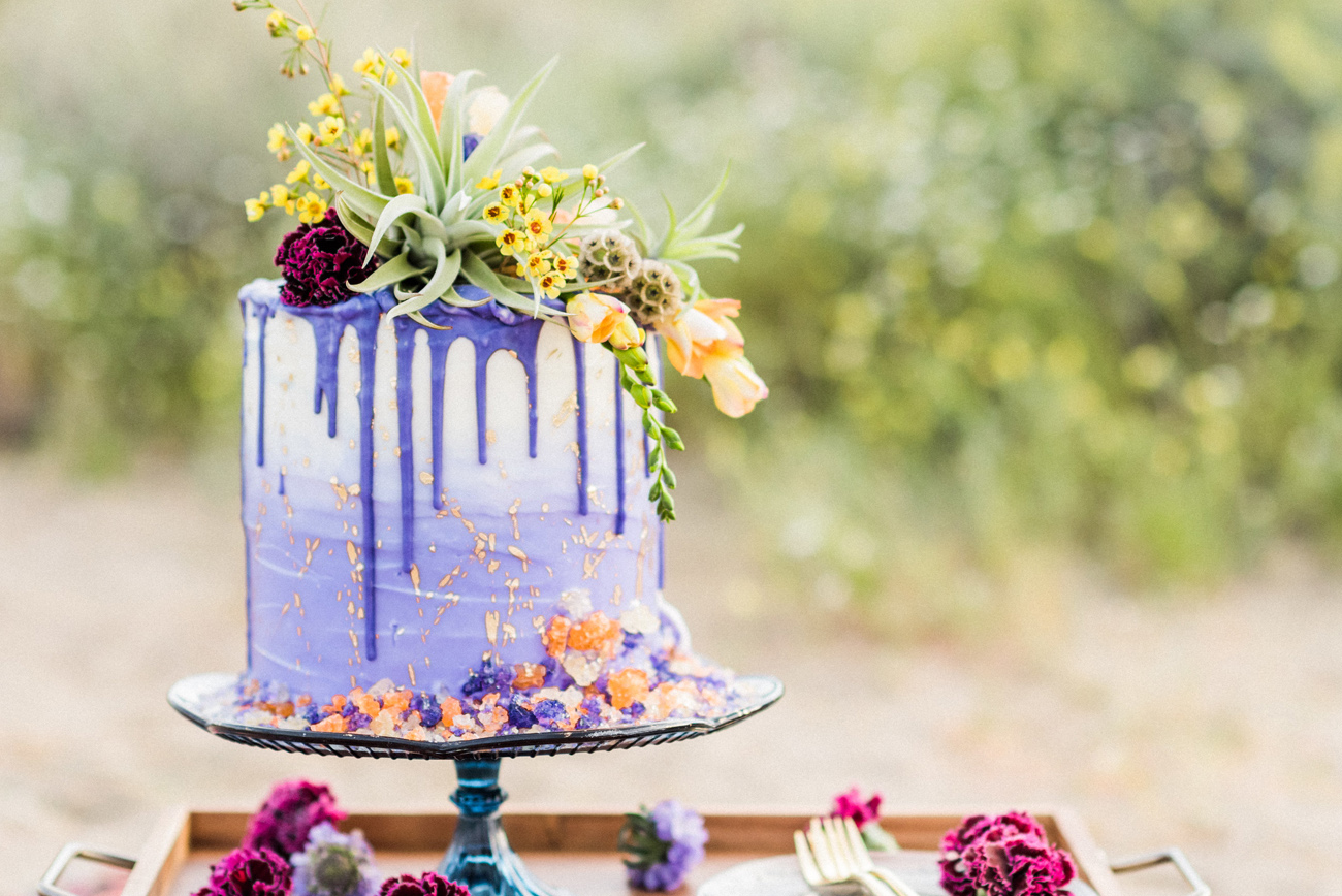 The Hottest Trend in Wedding Desserts: Drip Cakes - Green Wedding Shoes
