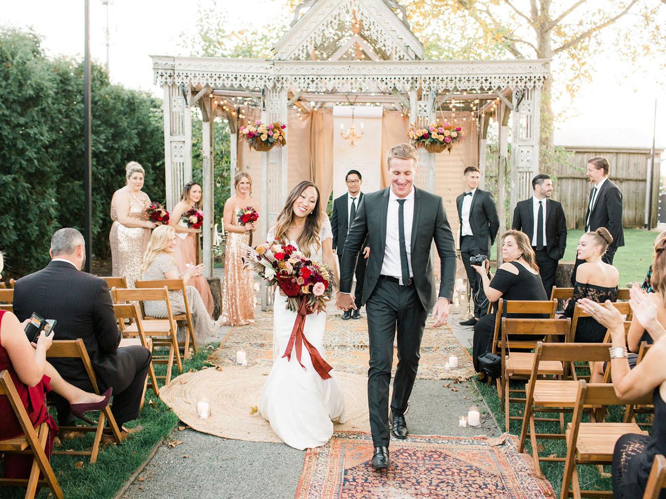 Fall Terrain Wedding