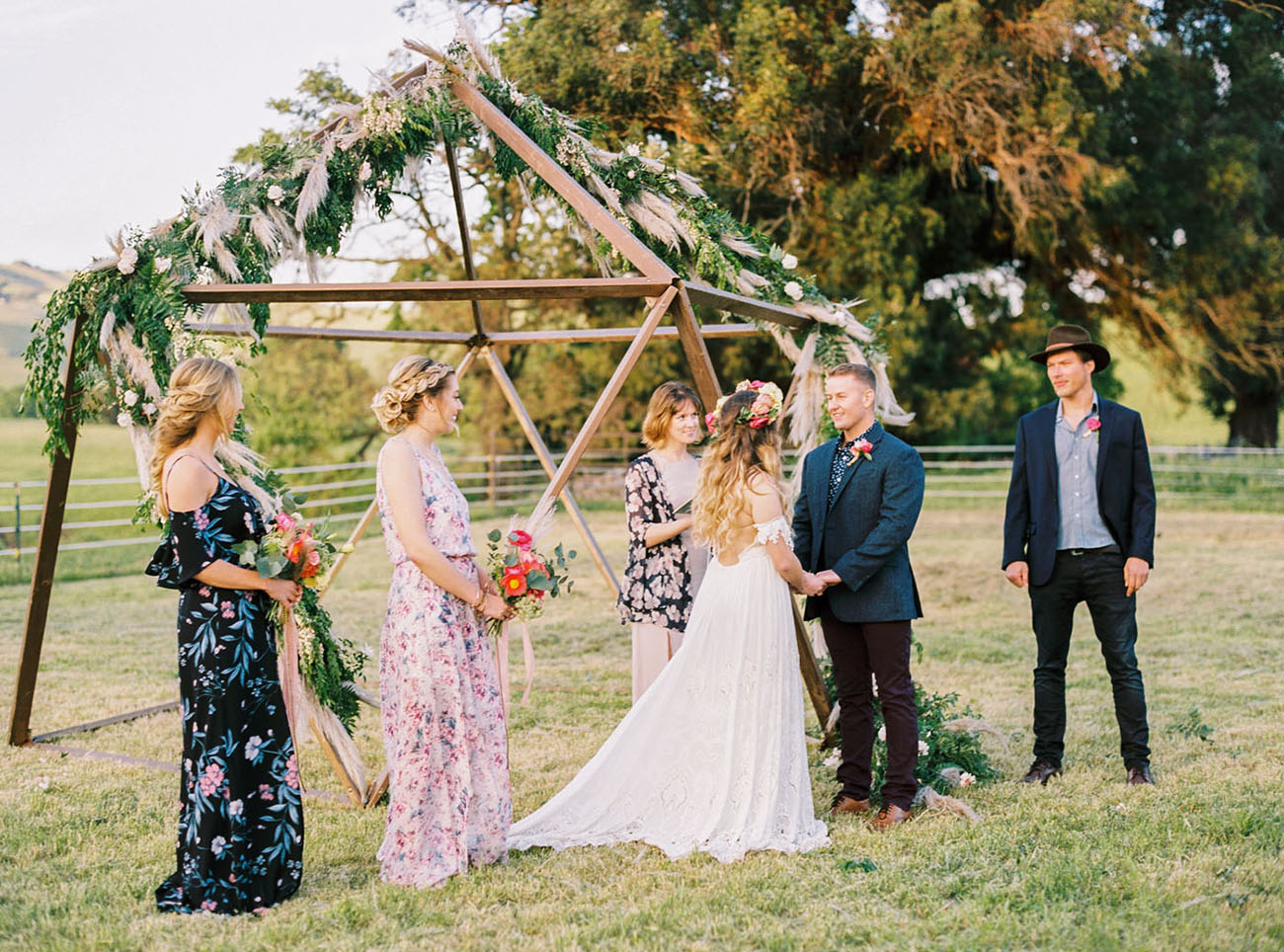 Glamping Festival Wedding Inspiration