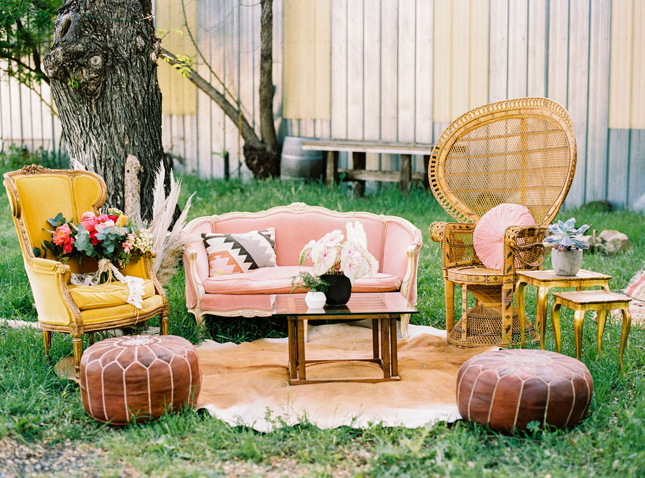 pink couch lounge