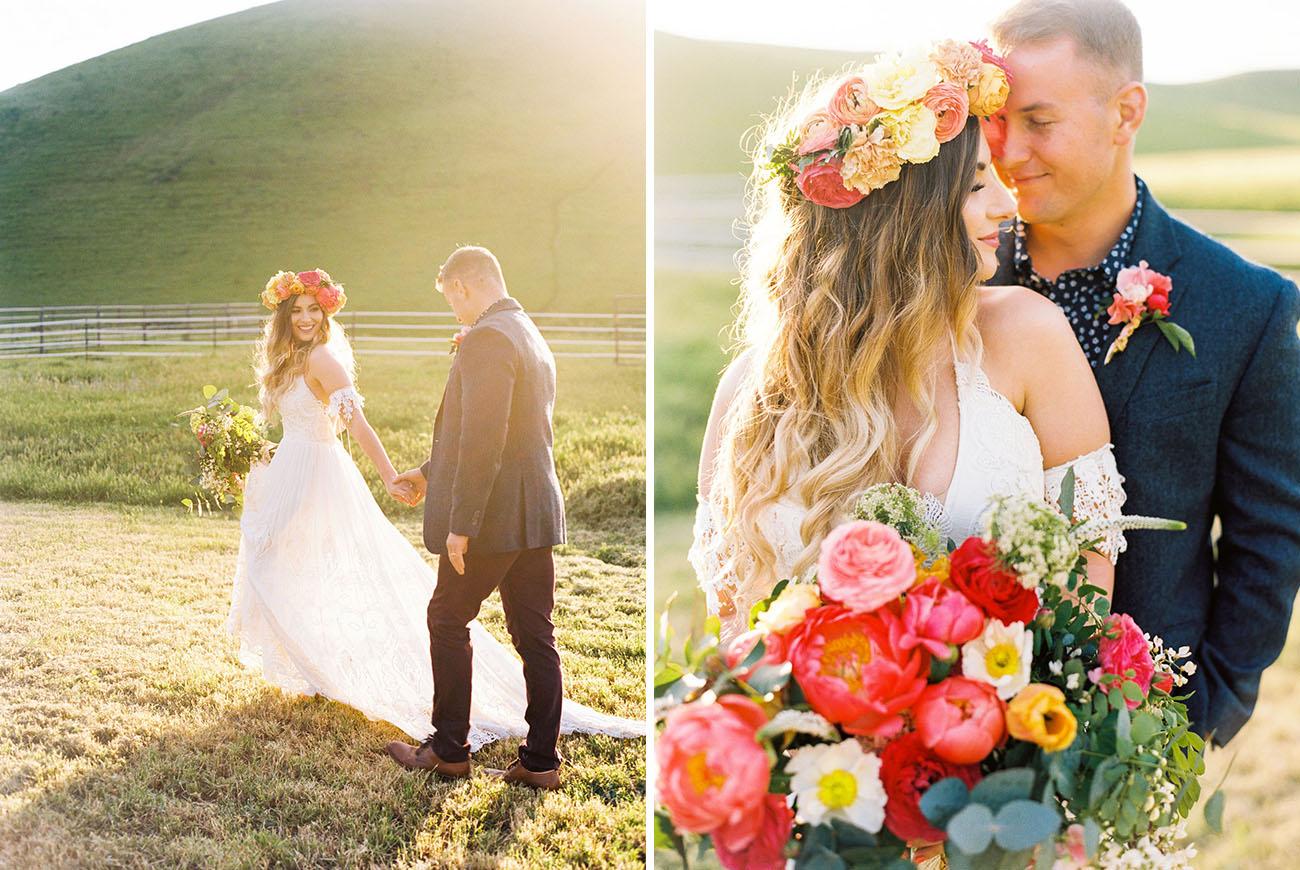 Glamping Festival Wedding Inspiration