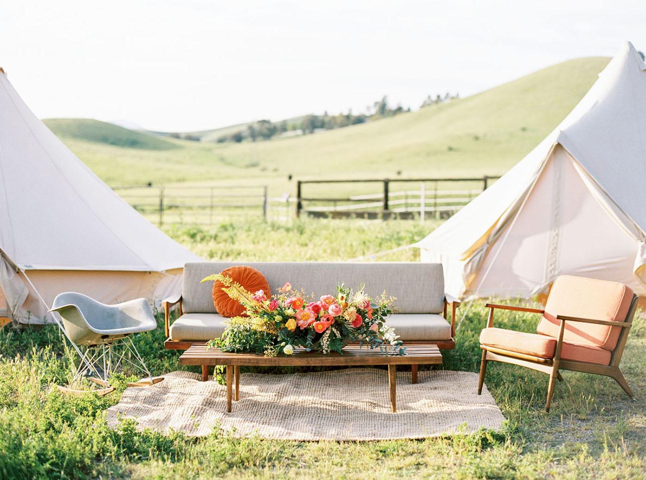 tent lounge