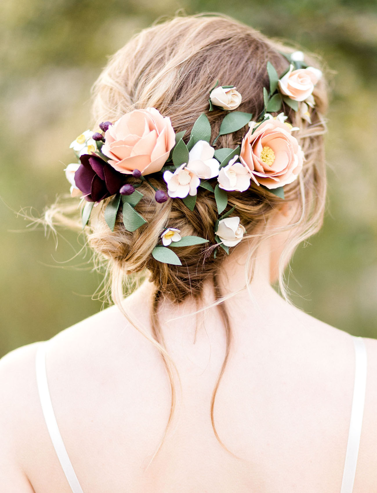 Handmade by sara kim 2017 collection and a giveaway green wedding shoes - Les plus belle coiffure de mariage ...