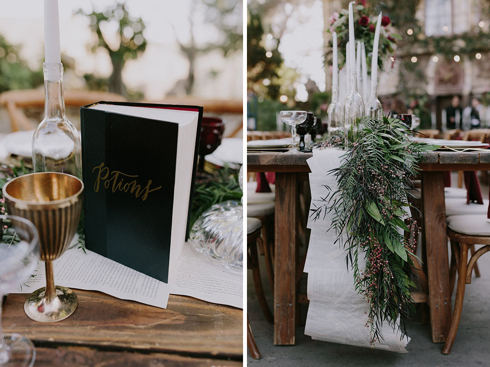 Harry Potter Inspired Wedding
