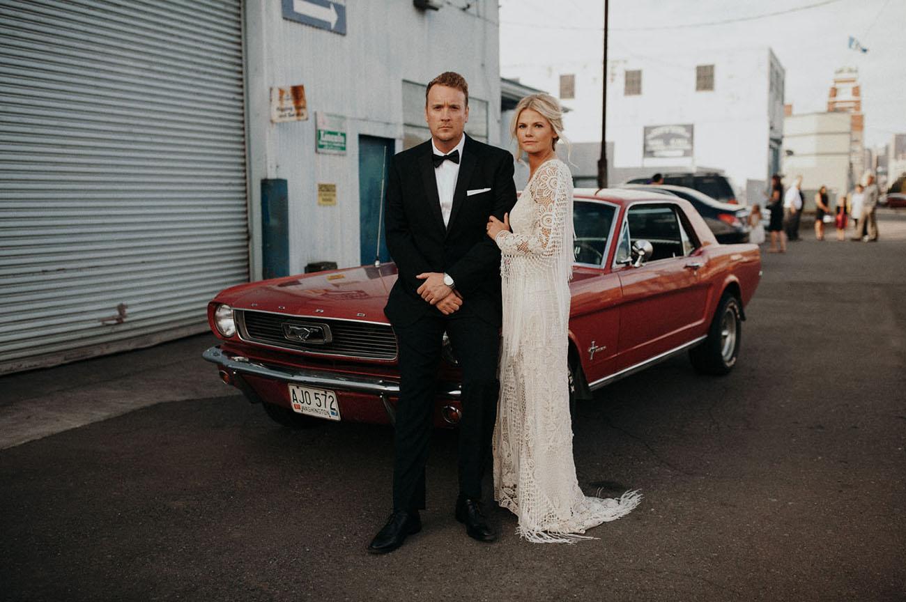 Macrame Inspired Seattle Wedding