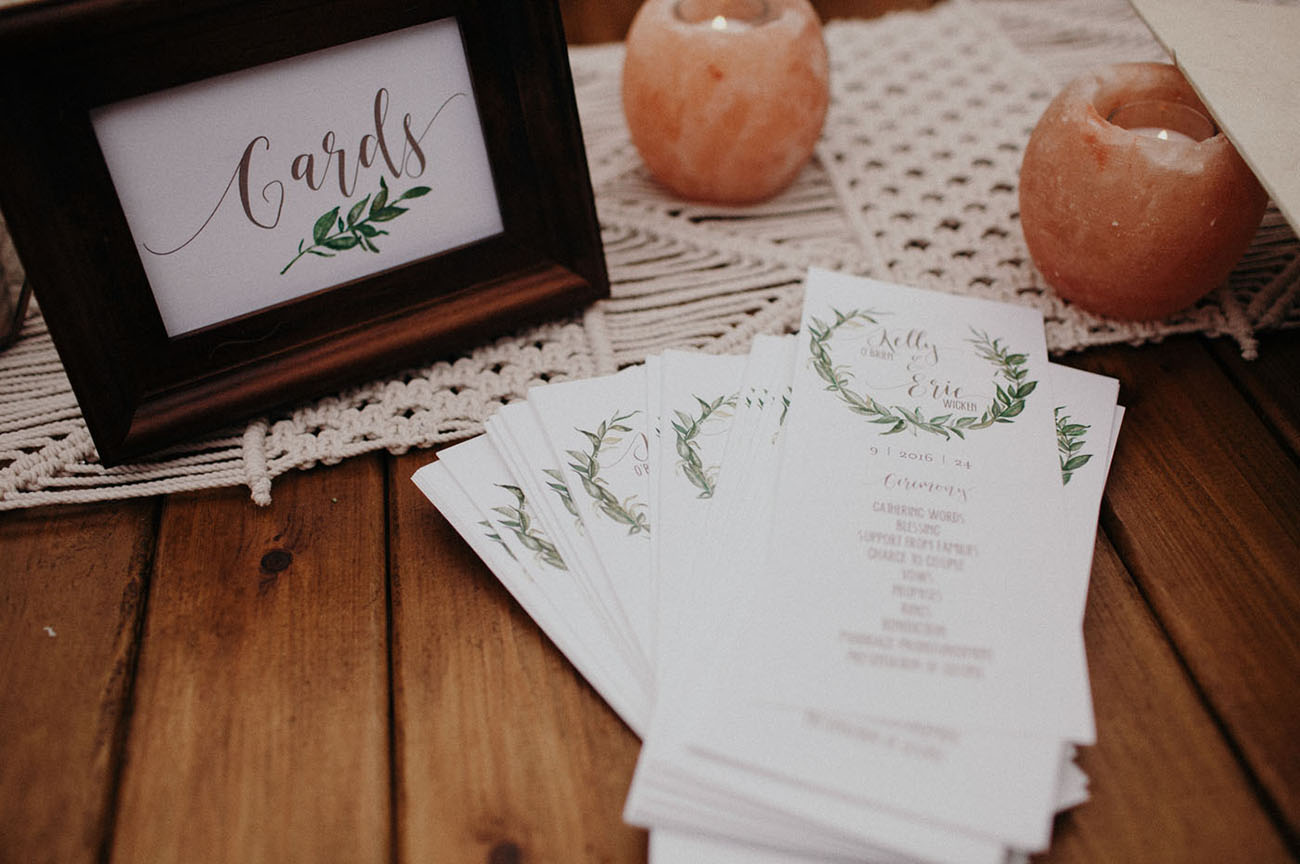 Macrame Inspired Seattle Wedding
