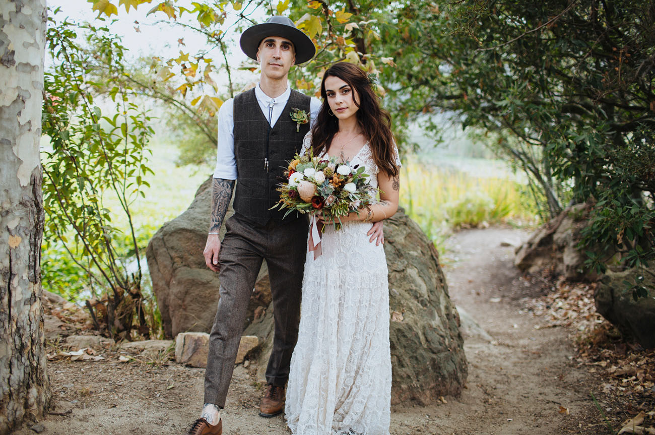 Malibu Mountain Wedding