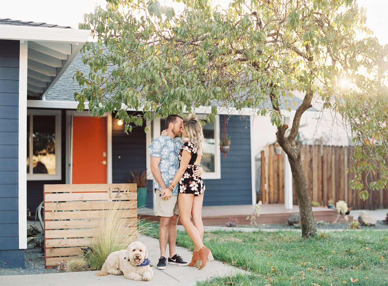 Home Tour Mid Century Modern Poff Pad Green Wedding