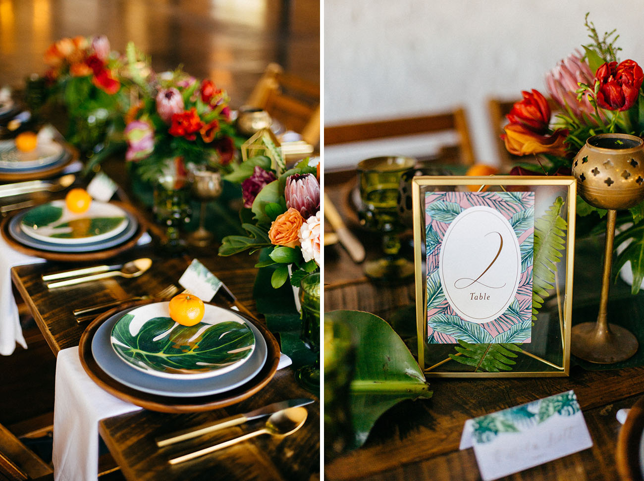 tropical table number
