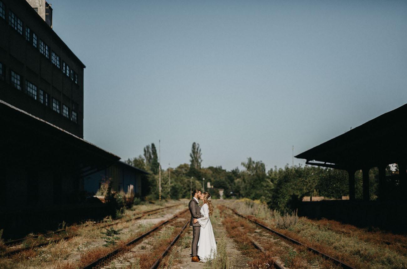 Prague Industrial Wedding