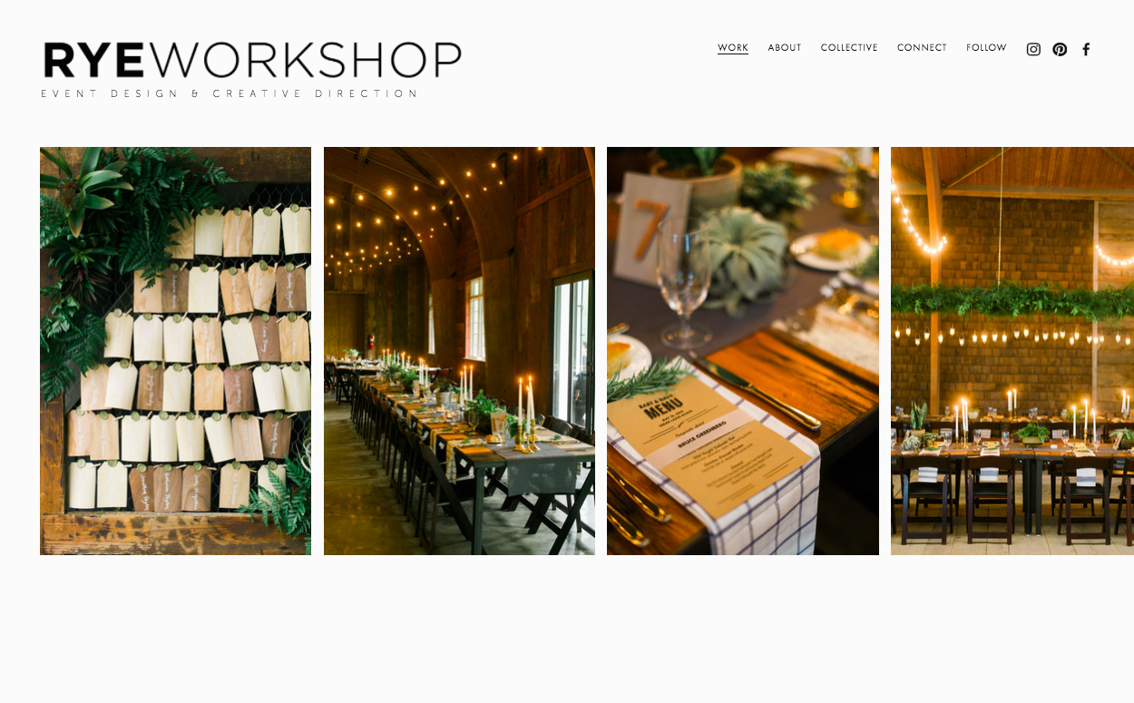 squarespace for small business a q a with rye workshop green wedding shoes. Black Bedroom Furniture Sets. Home Design Ideas