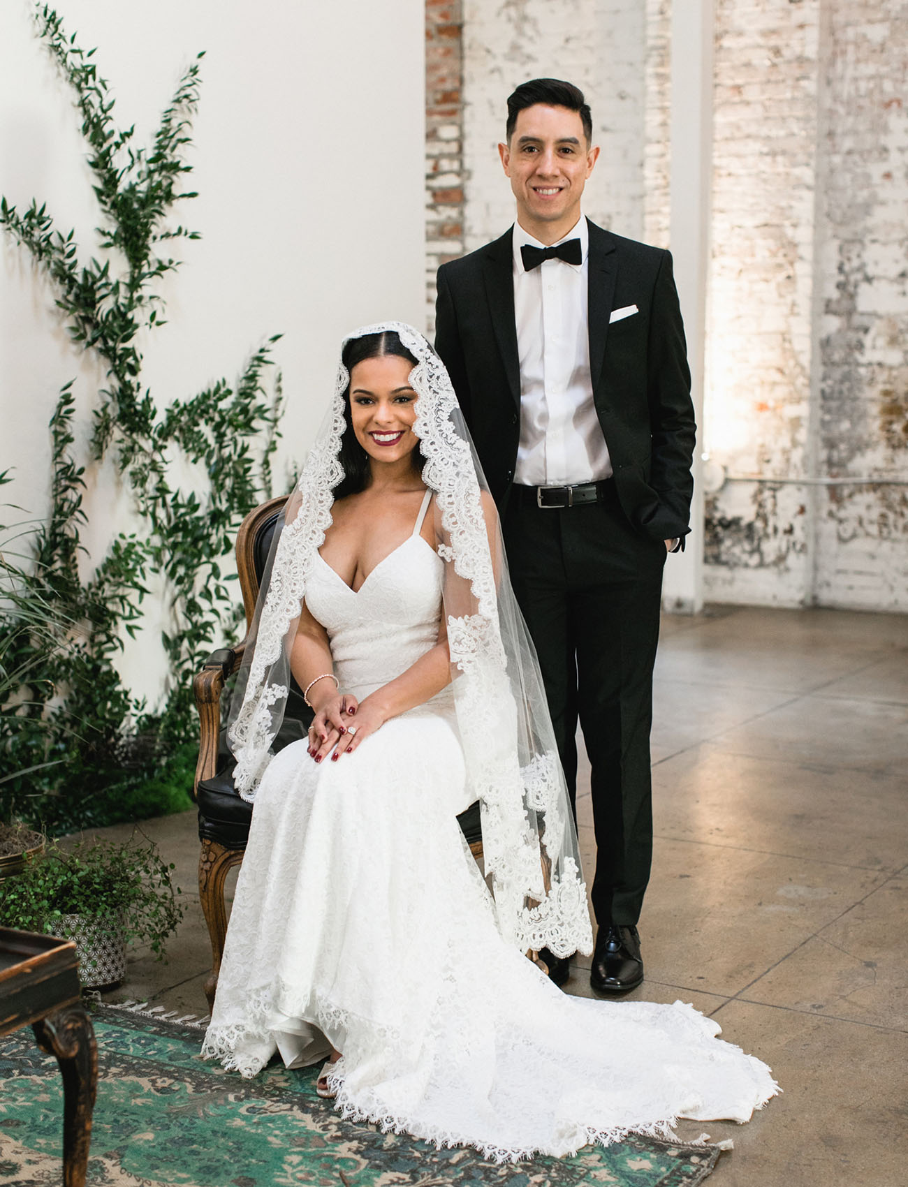 Stylish Downtown LA Wedding