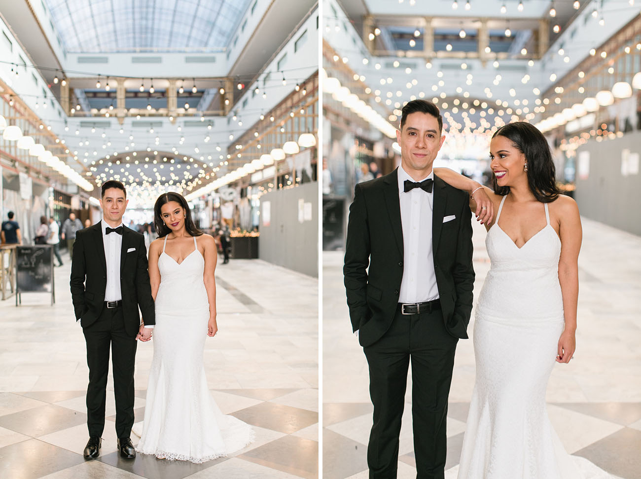 Gowns in downtown los angeles - Stylish Downtown La Wedding