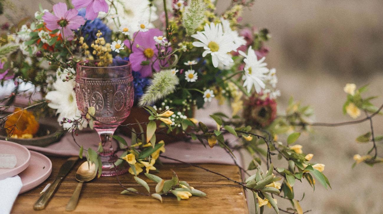 pink goblet