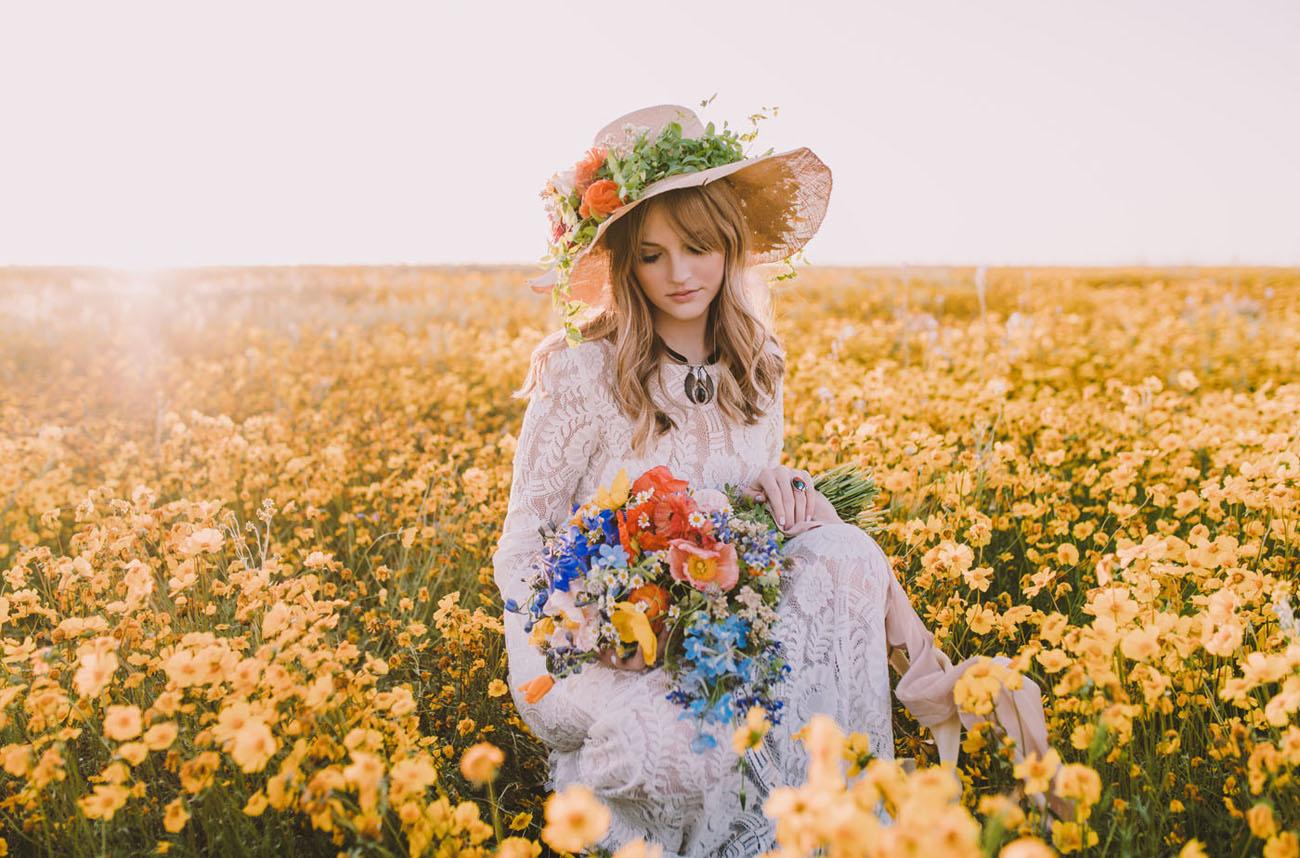 1970s wildflower inspiration
