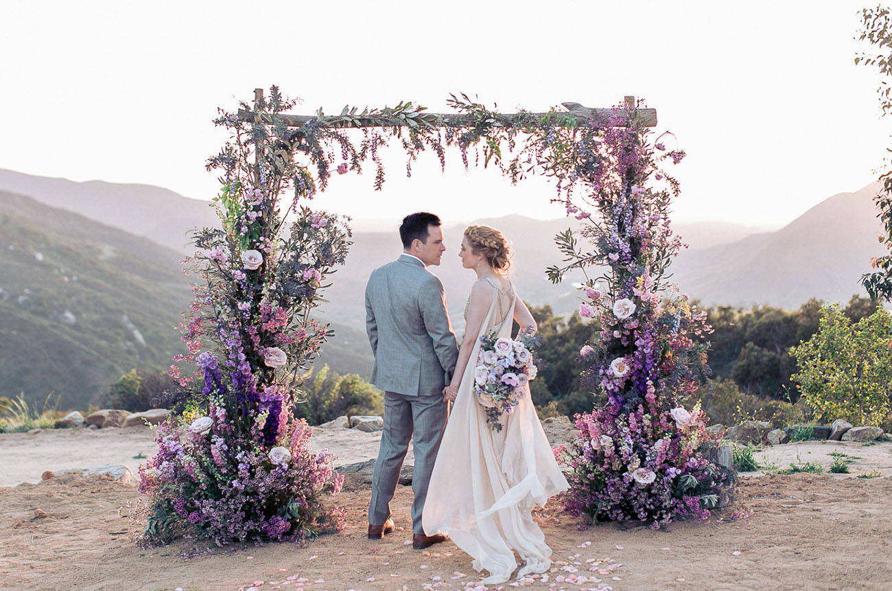 The Most Amazing Floral Arch We?ve Ever Seen ? Seriously!!