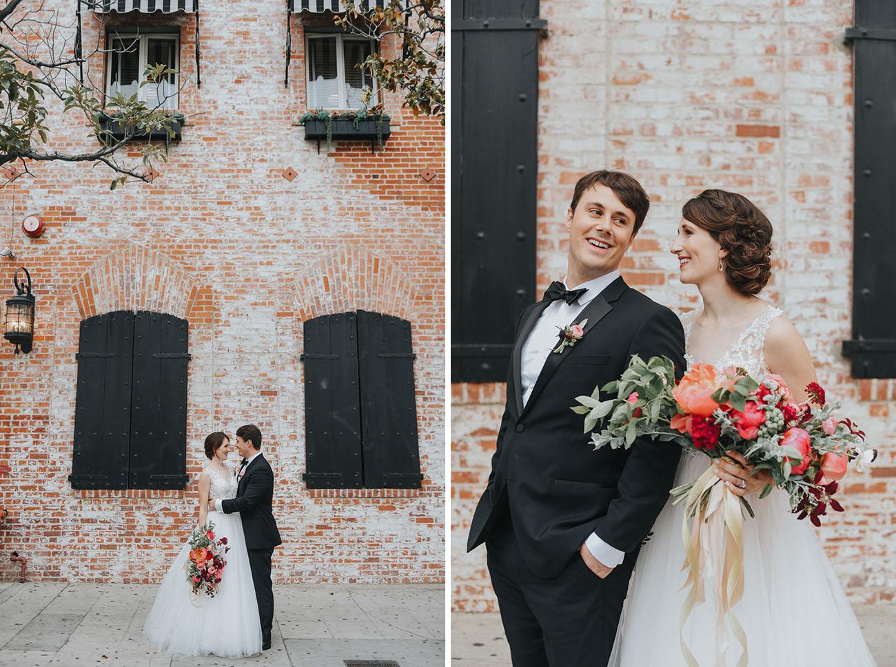 Bold Floral Carondelet Wedding